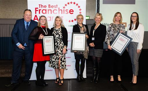 Stafford, was recently recognised as a 'Management Category' Finalist at the Best Franchise Awards